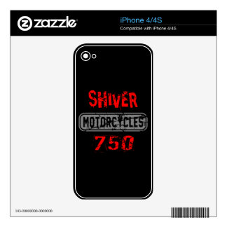 Shiver 750 skins for the iPhone 4S