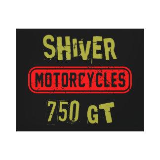 Shiver 750GT Canvas Print