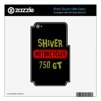 Shiver 750GT iPod Touch 4G Skin