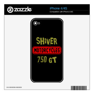 Shiver 750GT Skins For iPhone 4