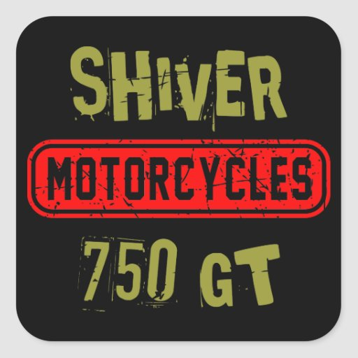 Shiver 750GT Square Sticker
