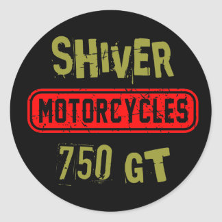 Shiver 750GT Sticker