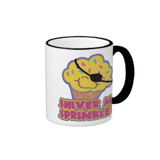 Shiver Me Sprinkles Pirate Cupcake, Mug