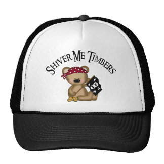 Shiver Me Timbers Trucker Hat