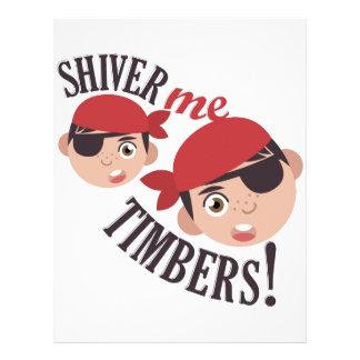 Shiver Me Timbers Letterhead