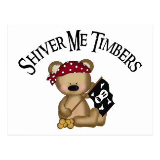 Shiver Me Timbers Post Cards