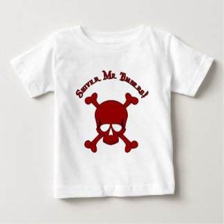 Shiver Me Timbers - Skull and Crossbones Baby T-Shirt