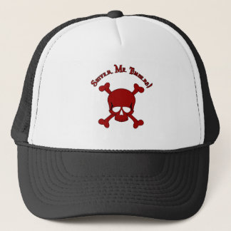 Shiver Me Timbers - Skull and Crossbones Trucker Hat