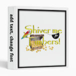 SHIVER ME TIMBERS! - Text w/Pirate Chest Binders