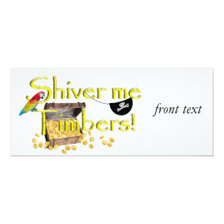 SHIVER ME TIMBERS! - Text w/Pirate Chest Announcement