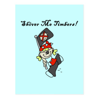 Shiver Me Timbers Tshirts and Gifts Post Card