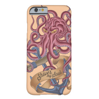 Shiver My Soul   Octopus Tatto Barely There iPhone 6 Case
