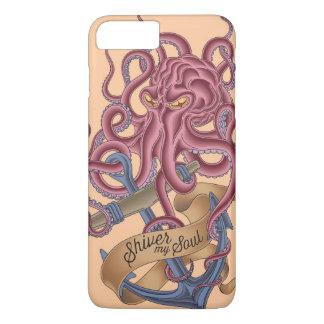 Shiver My Soul   Octopus Tatto iPhone 8 Plus/7 Plus Case