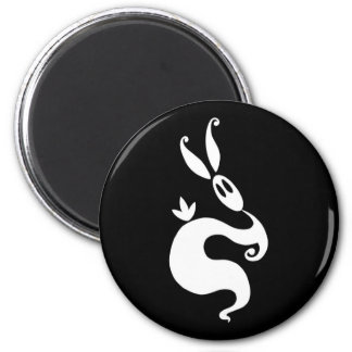 Shiver the Shadow Rabbit Magnet