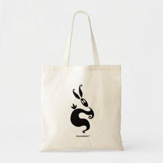Shiver the Shadow Rabbit Tote Bag