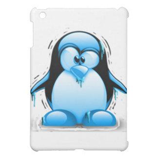 Shivering Cold Blue Tux iPad Mini Case