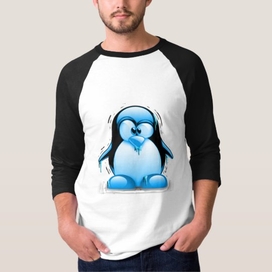 Shivering Cold Blue Tux T-Shirt