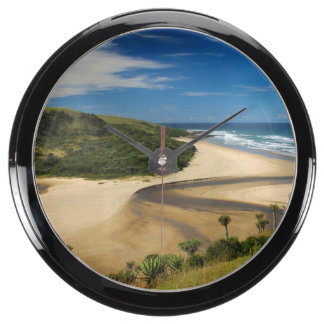 Shixini River Wild Coast Eastern Cape Aqua Clock