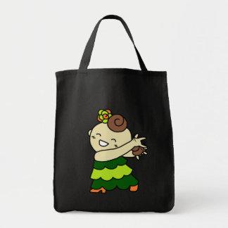 shiyotsupingutotokasutanetsu child green tote bag