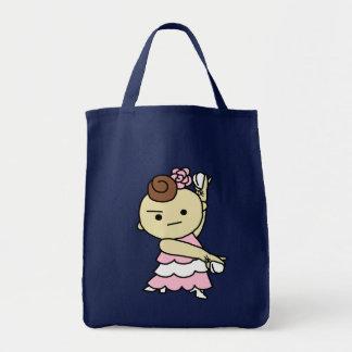 shiyotsupingutotopari child white tote bag