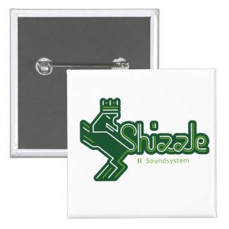 Shizzle sistema de sonido Button Pins