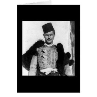 Shkypetars Costume Albania 1923 Card