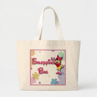 Shlepping Bag - Large Cotton Tote Bag - Yiddish