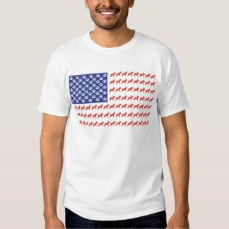 SHNAUZER-FLAG-Tee Shirt