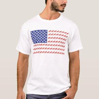 SHNAUZER-FLAG-Tee T-Shirt