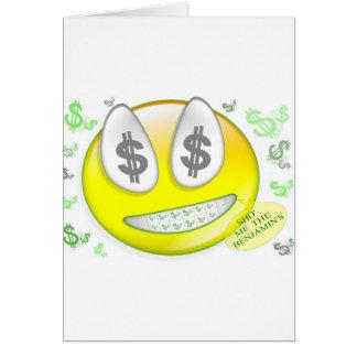 Sho Me The Benjamin s Smiley Face Cards