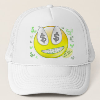 Sho' Me The Benjamin's Smiley Face Trucker Hat