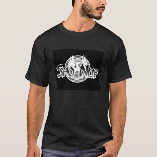 Sho-Nuf Black and White T-Shirt