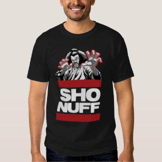 Sho Nuff wht txt Shirt