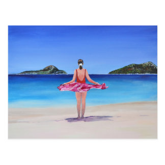 Shoal Bay Beach Postcard