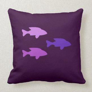 Shoal of fish American MoJo Pillow throwpillow