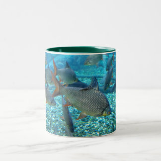 Shoal of Fish Two-Tone Coffee Mug