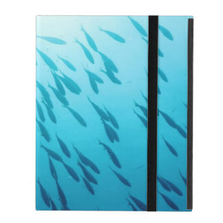 Shoal of fishes iPad case