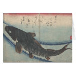 Shoal of Fishes: Koi - notecard Stationery Note Card
