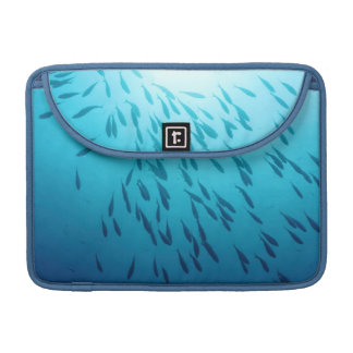 Shoal of fishes MacBook pro sleeve