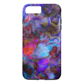 Shock Absorbing iPhone 7 Plus case Mosaic Style