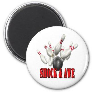 Shock & Awe 2 Inch Round Magnet