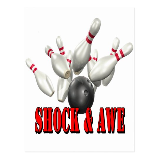 Shock & Awe Postcard