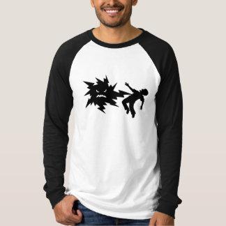 shock - b&w t-shirt