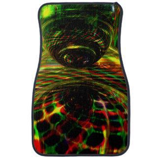 Shock Factor Abstract Car Floor Mat
