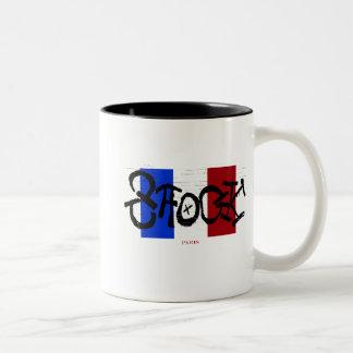 SHOCK Paris Two-Tone Coffee Mug