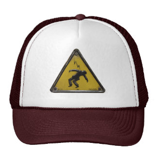 shock trucker hat