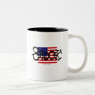 SHOCK Two-Tone COFFEE MUG