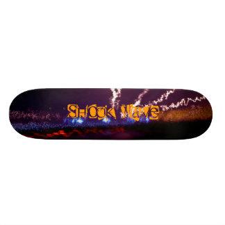 Shock Wave Skateboard