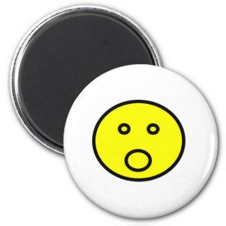 shocked 2 inch round magnet