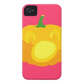 Shocked and Surprised Jack-O-'Lantern iPhone 4 Case-Mate Case